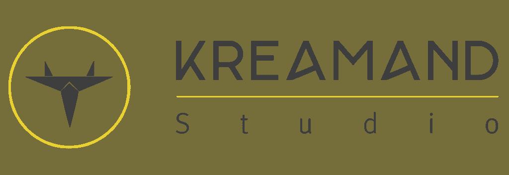 logo studio kreamand vector orfeo'lab