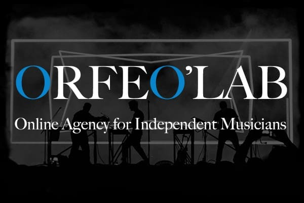 logo orfeo'lab online agency for independent musicians