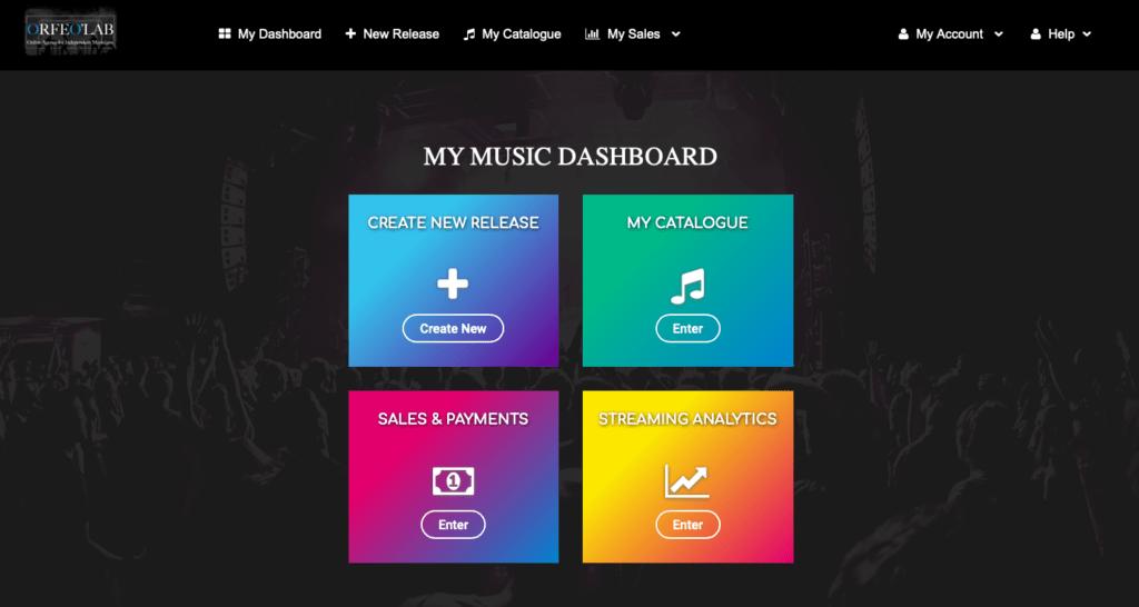 dashboard artist orfeolab images my music dashboard analytics