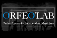 logo orfeo'lab online agency for independent musicians distribution